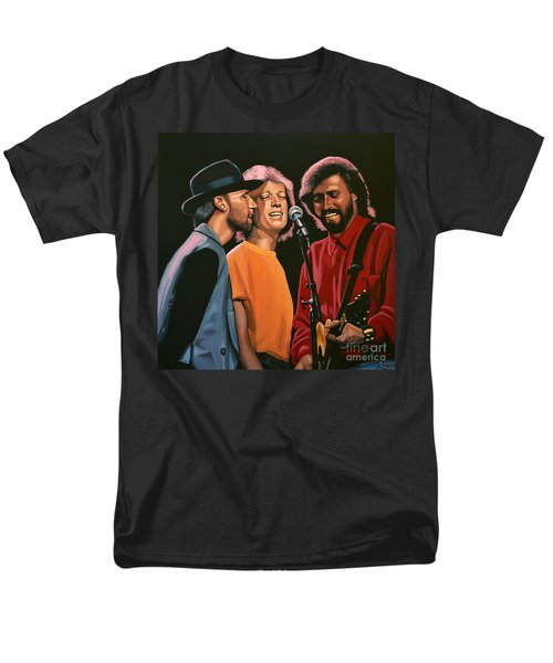 The Bee Gees Men's T-Shirt  (Regular Fit) by Paul Meijering