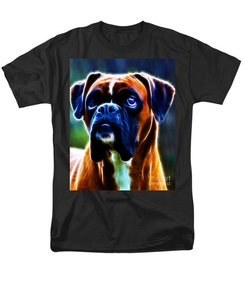 The Boxer - Electric T-Shirt by Wingsdomain Art and Photography