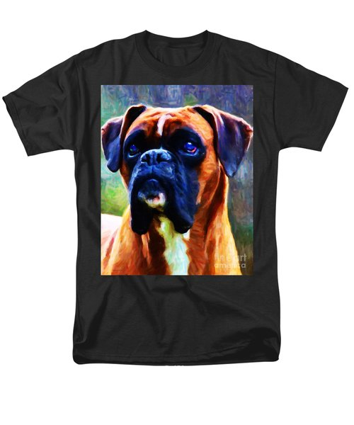 The Boxer - Painterly T-Shirt by Wingsdomain Art and Photography