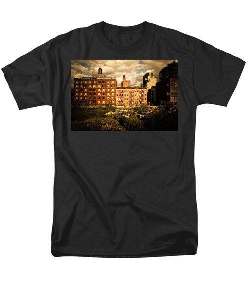 The Chelsea Skyline - High Line Park - New York City T-Shirt by Vivienne Gucwa