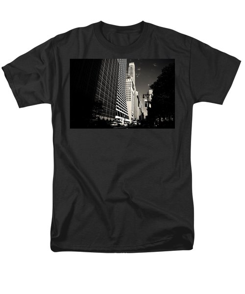 The Grace Building And The Chrysler Building - New York City Men's T-Shirt  (Regular Fit) by Vivienne Gucwa