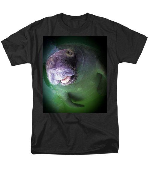 THE HAPPY MANATEE T-Shirt by KAREN WILES