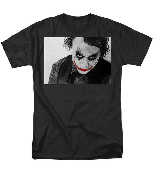 The Joker Men's T-Shirt  (Regular Fit) by Robert Bateman