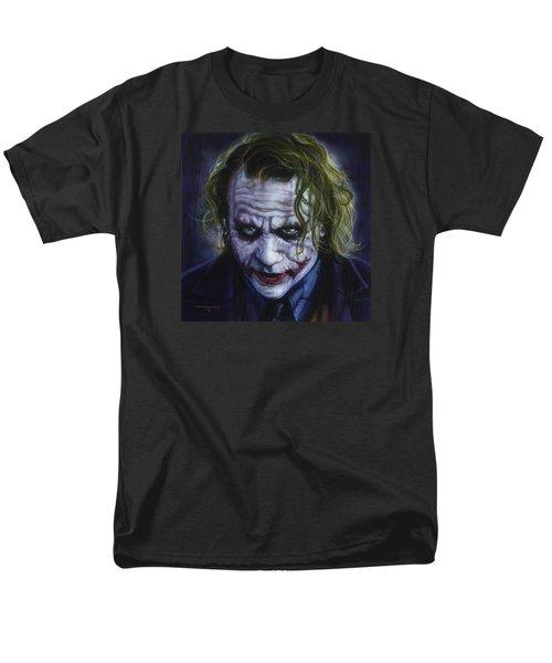 The Joker Men's T-Shirt  (Regular Fit) by Tim  Scoggins
