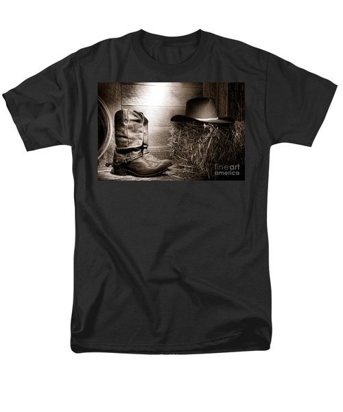 The Old Boots T-Shirt by Olivier Le Queinec