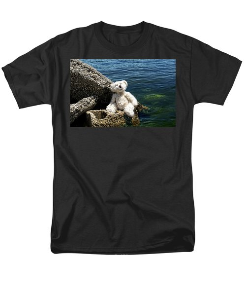 The Philosopher - Teddy Bear Art By William Patrick and Sharon Cummings T-Shirt by Sharon Cummings