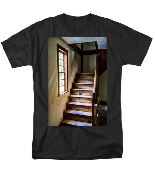 The Stairs T-Shirt by Karol  Livote