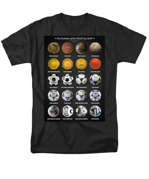 The World Cup Balls Men's T-Shirt  (Regular Fit) by Taylan Soyturk