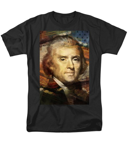 Thomas Jefferson T-Shirt by Corporate Art Task Force