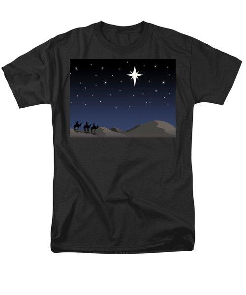 Three Wisemen Following Star T-Shirt by Daniel Sicolo