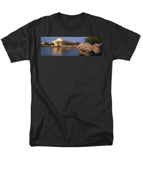 Tidal Basin Washington Dc Men's T-Shirt  (Regular Fit) by Panoramic Images