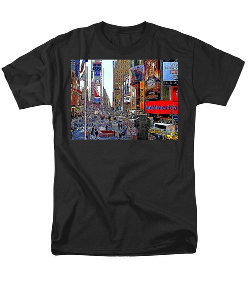 Time Square New York 20130503v4 T-Shirt by Wingsdomain Art and Photography