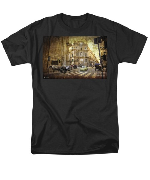 Time Traveling in Palermo - Sicily T-Shirt by Madeline Ellis