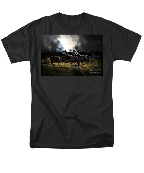 Tomales Bay Harem Under The Midnight Moon - 7D21241 T-Shirt by Wingsdomain Art and Photography