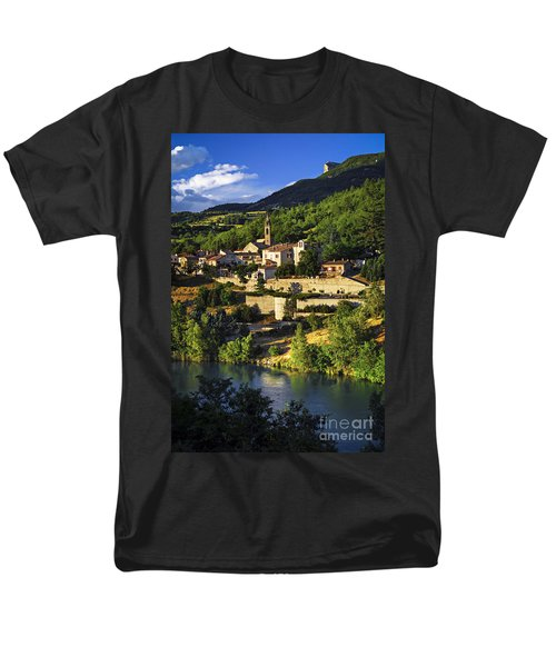 Town of Sisteron in Provence T-Shirt by Elena Elisseeva