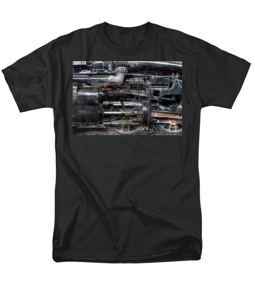 Train - Engine - 611 - Norfolk and Western - Built 1950 T-Shirt by Mike Savad
