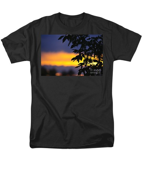 Tree silhouette over sunset T-Shirt by Elena Elisseeva