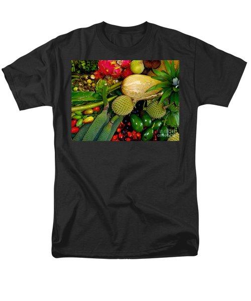 Tropical Fruits Men's T-Shirt  (Regular Fit) by Carey Chen