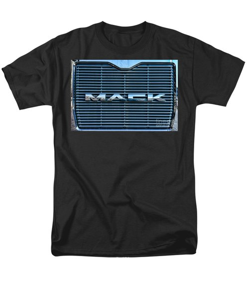 Truck - The MACK Grill T-Shirt by Paul Ward