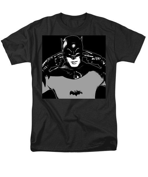 TV Batman Adam West T-Shirt by Tony Rubino