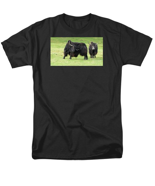 Yaketty Yak Men's T-Shirt  (Regular Fit) by Liz Leyden
