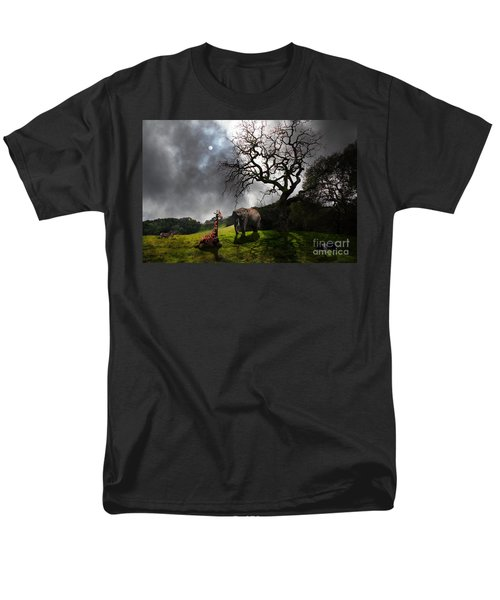 Under The Old Oak Tree - 5D21097 - horizontal T-Shirt by Wingsdomain Art and Photography