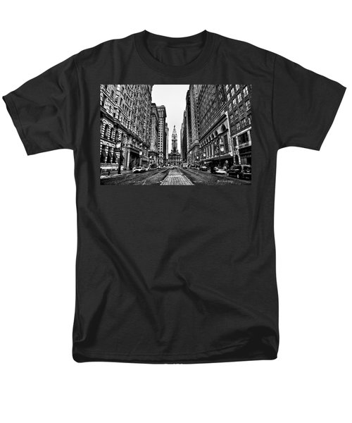 Urban Canyon - Philadelphia City Hall T-Shirt by Bill Cannon