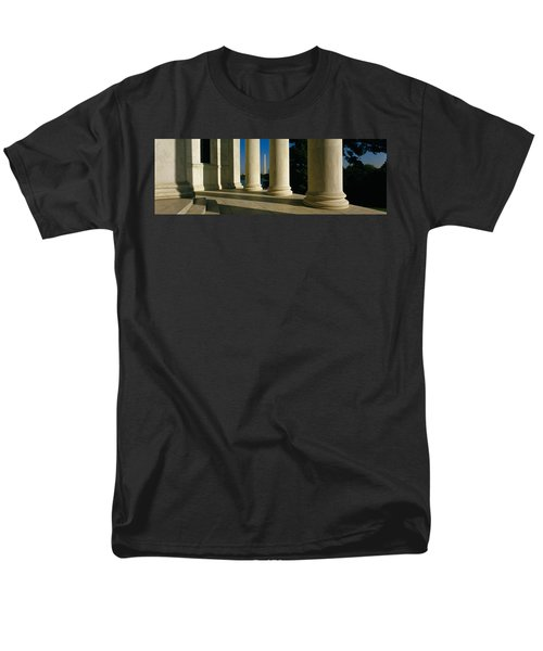 Usa, District Of Columbia, Jefferson Men's T-Shirt  (Regular Fit) by Panoramic Images