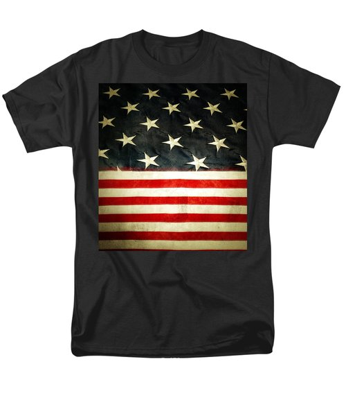 USA stars and stripes T-Shirt by Les Cunliffe