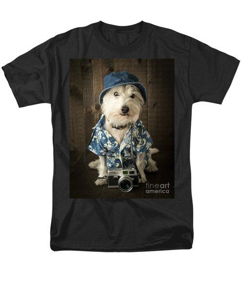 Vacation Dog T-Shirt by Edward Fielding