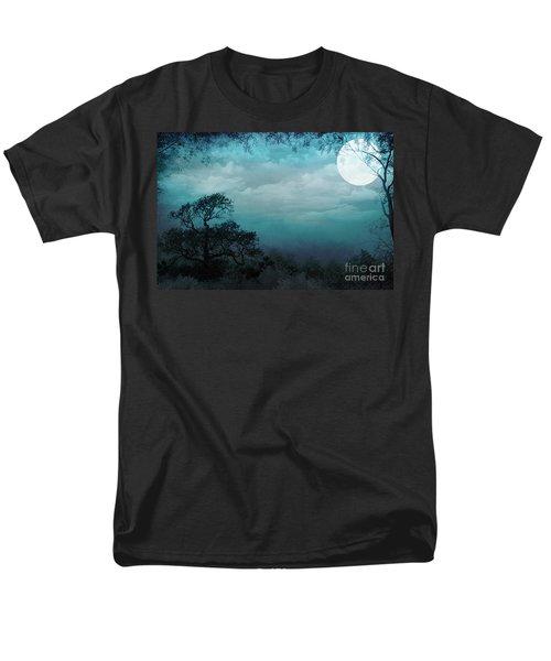 Valley Under Moonlight T-Shirt by Bedros Awak