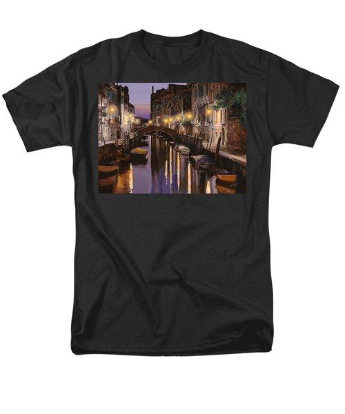 Venezia al crepuscolo T-Shirt by Guido Borelli
