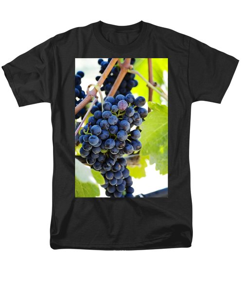 Vineyard Grapes T-Shirt by Charmian Vistaunet
