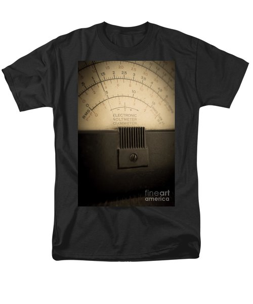 Vintage Electric Meter T-Shirt by Edward Fielding