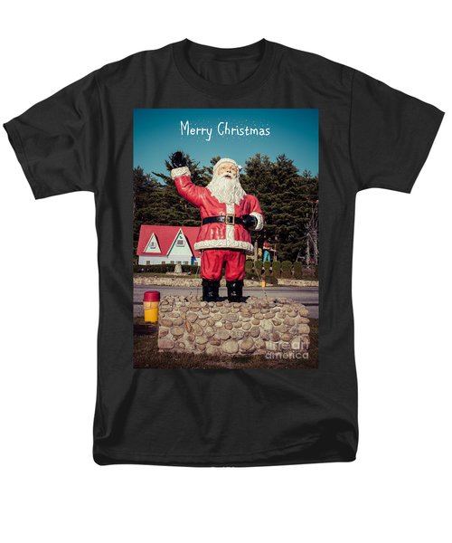 Vintage Santa Claus Christmas Card T-Shirt by Edward Fielding