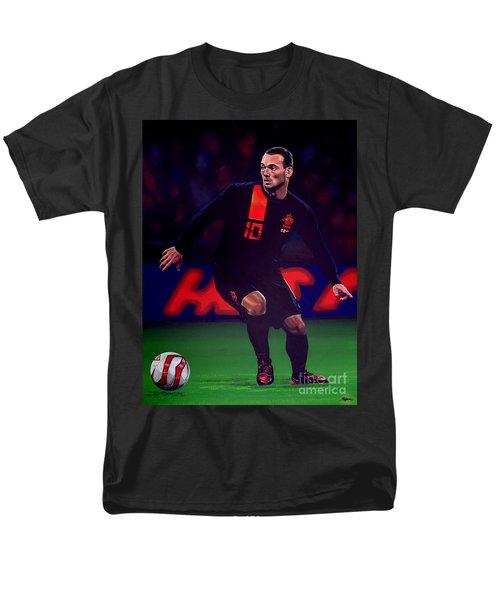 Wesley Sneijder  T-Shirt by Paul  Meijering