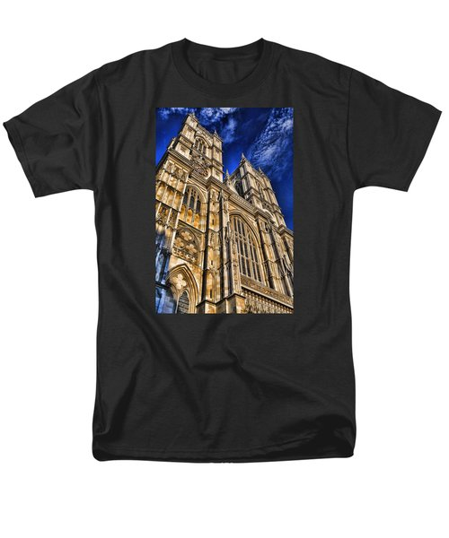 Westminster Abbey West Front Men's T-Shirt  (Regular Fit) by Stephen Stookey