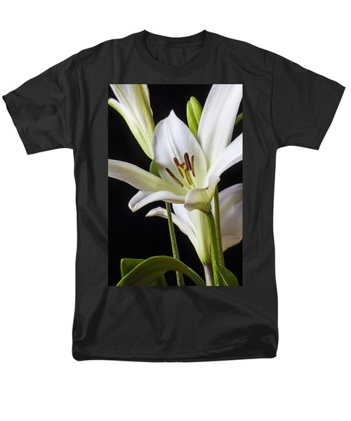 White Lily T-Shirt by Garry Gay