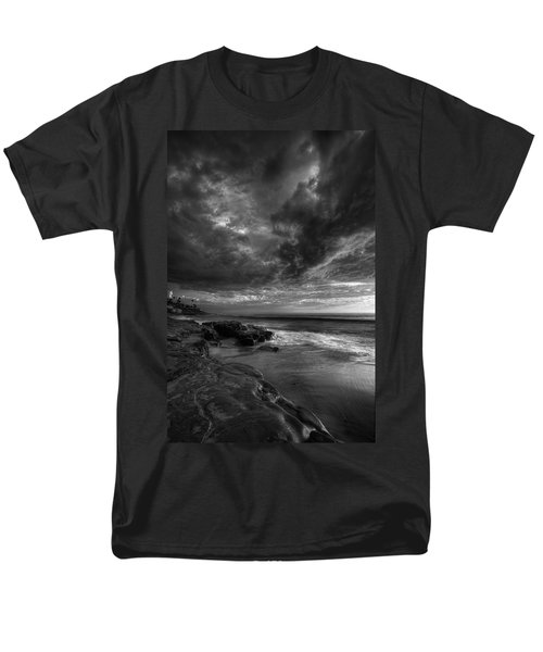 WindNSea Stormy Sky BW T-Shirt by Peter Tellone