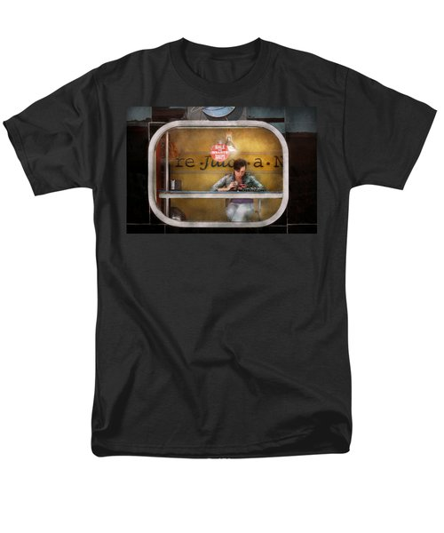 Window - Hoboken NJ - Hale and Hearty Soups  T-Shirt by Mike Savad