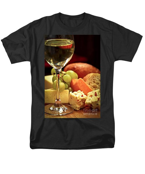 Wine and cheese T-Shirt by Elena Elisseeva