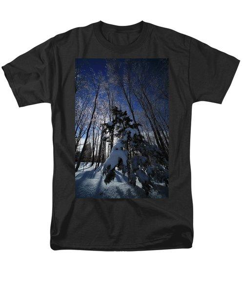 Winter Blue T-Shirt by Karol  Livote
