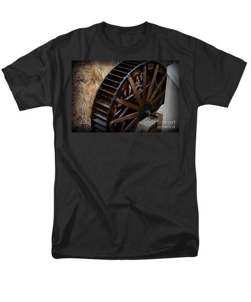 Wooden Water Wheel T-Shirt by Paul Ward