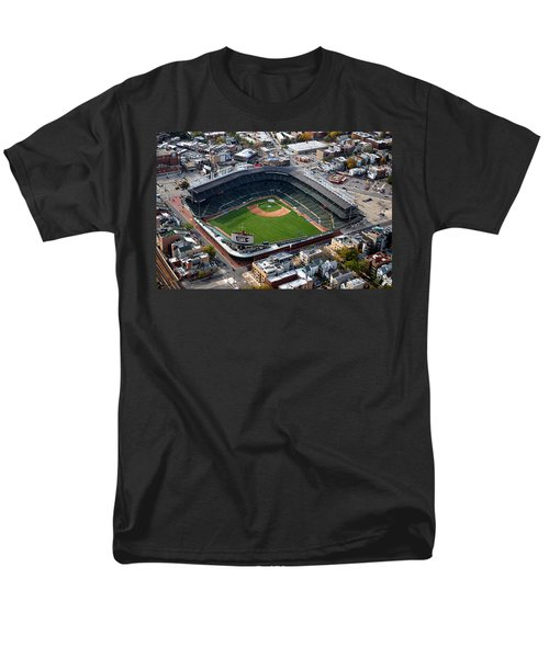 Wrigley Field Chicago Sports 02 T-Shirt by Thomas Woolworth