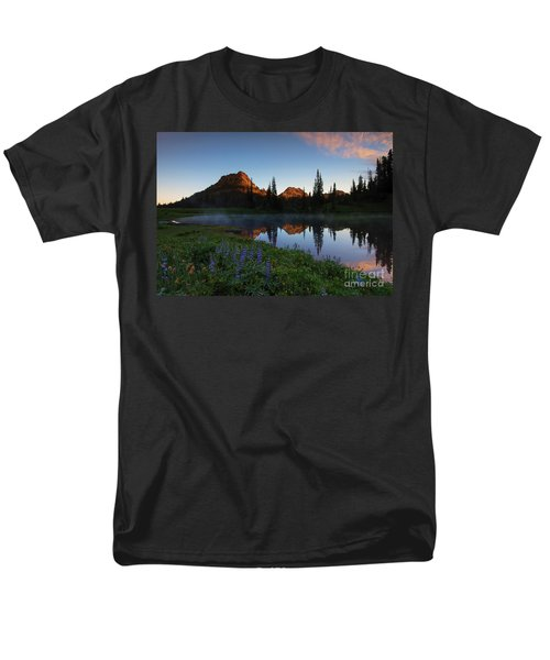 Yakima Peak Sunrise T-Shirt by Mike  Dawson