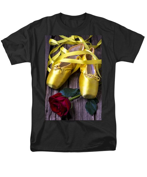 Yellow Ballet Shoes T-Shirt by Garry Gay