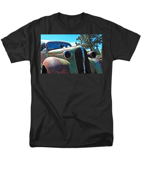 1937 Plymouth T-Shirt by Steve McKinzie