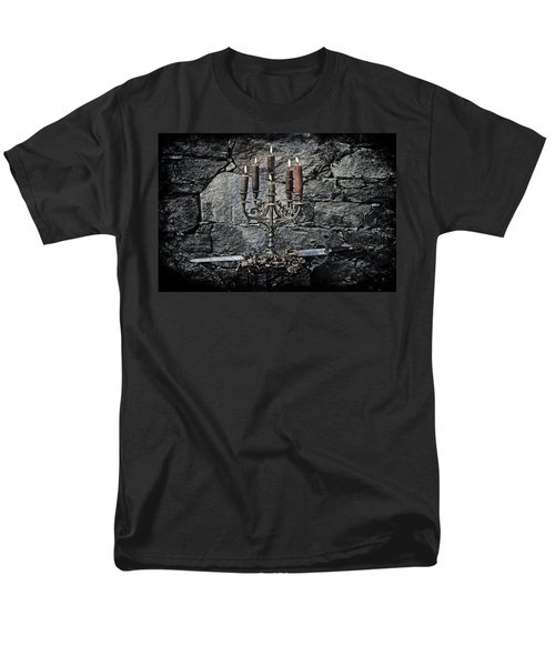 candle holder and sword T-Shirt by Joana Kruse