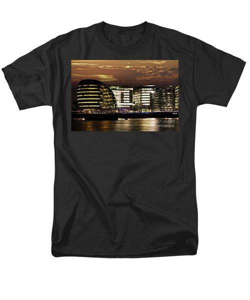 London city hall at night T-Shirt by Elena Elisseeva