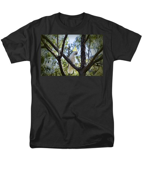 Sulphur Crested Cockatoo Men's T-Shirt  (Regular Fit) by Douglas Barnard